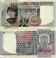 10000 Лир. Италия.