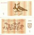 1 Талон. Литва.