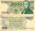 5000 Злотых. Польша.